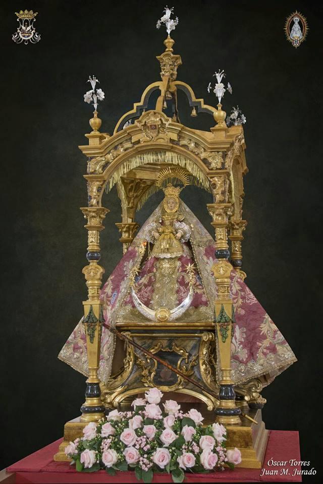 Sanlúcar La Virgen De La Caridad Recorre Las Parroquias Sanluqueñas Con Motivo Del Cuarto Centenario De Su Patronazgo El Pertiguero